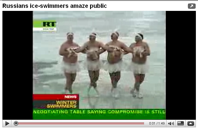 Russian Ice Swimmers -are you sure you are well prepared for the Channel?