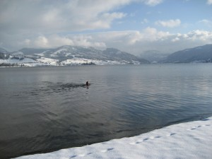Short dip in the winter magic of Einsiedeln