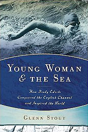 Gertrude Ederle - Young Woman and the Sea