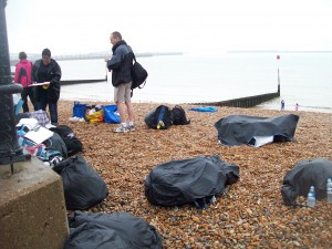 typical Dover harbour training day