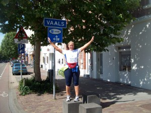 End of Vaals Netherlands - beginning of Germany!