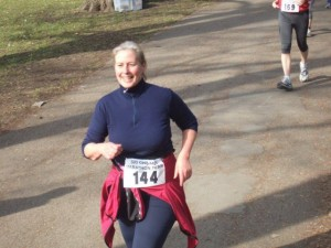 My longest training run before the 6 days: 31 km at the 6 hour race in Nürnberg, March 12, 2011 -