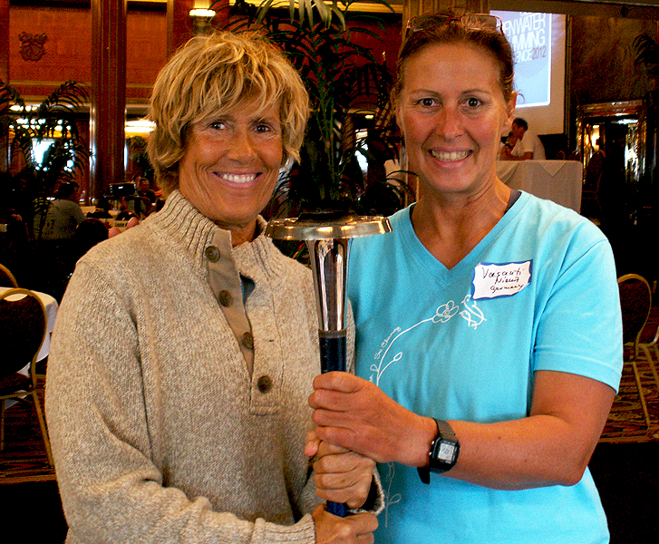 Diana Nyad - Open Water Swimming Conference Long Beach 2012