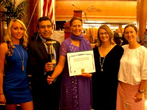 Torch Bearer Award for Steven Munatones