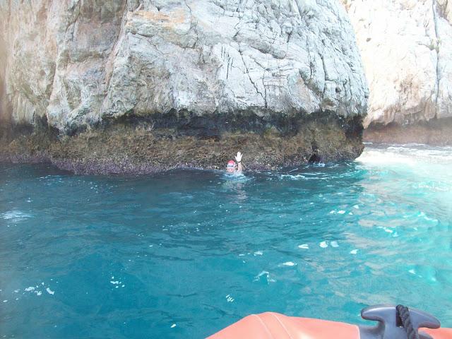 Swiming the Straits of Gibraltar -touching Africa - Gibraltar Straits Swim 2012
