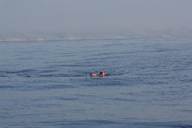 Swimming to Africa - Swimming the Straits of Gibraltar 2012