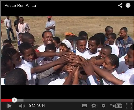 Impressions of Peace Run Africa