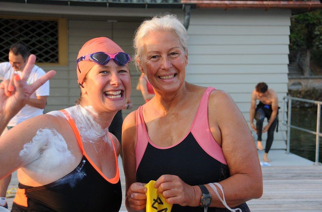 A tough one: my 9th Zürich Lake marathon solo swim, August 5, 2018