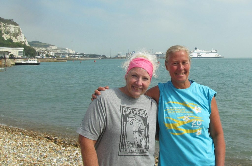 Off to Dover – acclimating and meeting Channel heroes