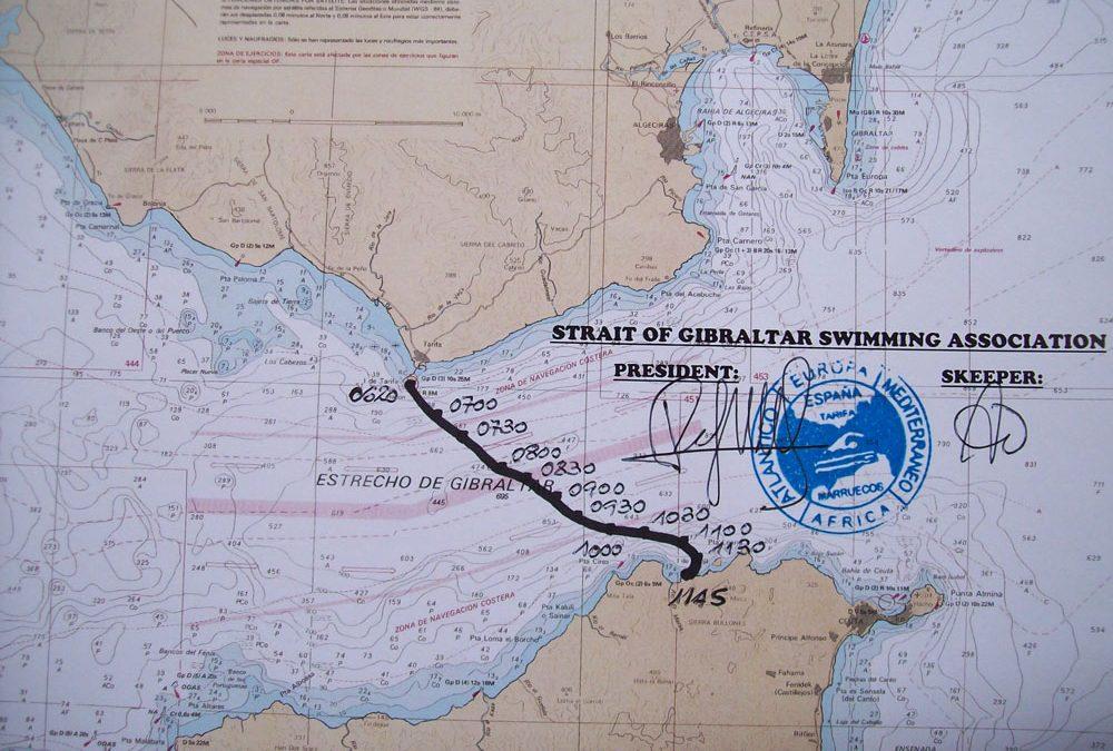 Gibraltar Straits Swim 2012: Mission accomplished